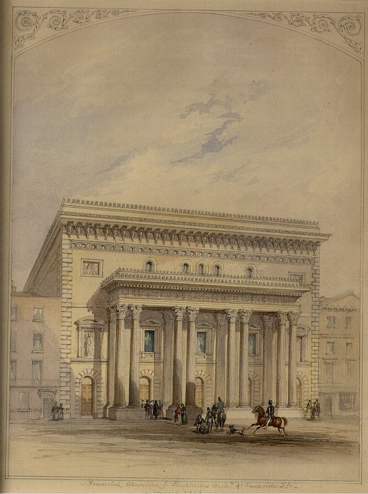Frederick J Parkinson (fl.1840-1850) New Theatre on Leicester Square London, 1846 Gallery Lingard